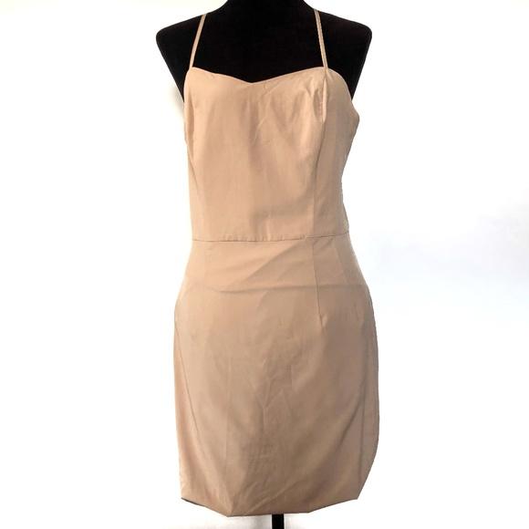Bronx and Banco Dresses & Skirts - Bronx and Banco Nude Midi Dress Spaghetti Strap 10